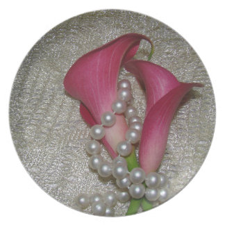 Romantic Cally Lilies Plate