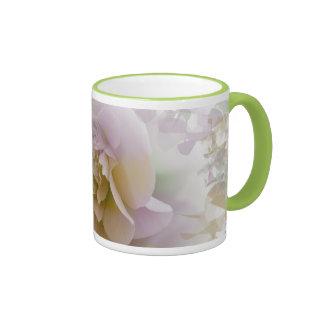 Romantic Camelia flower mug
