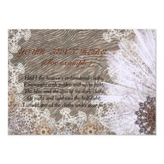 romantic card for congratulations and invitations