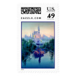 ROMANTIC CASTLE by SHARON SHARPE Postage Stamps