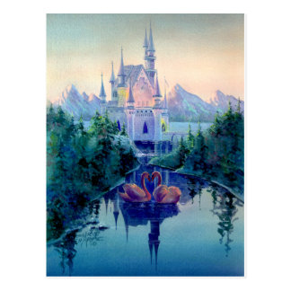 ROMANTIC CASTLE by SHARON SHARPE Post Card