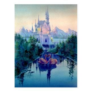 ROMANTIC CASTLE by SHARON SHARPE Postcard