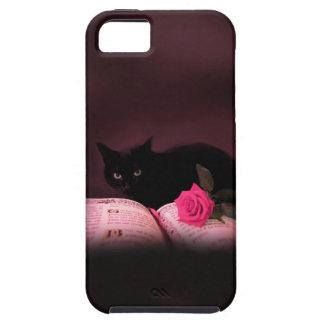 romantic cat book rose iphone5 case