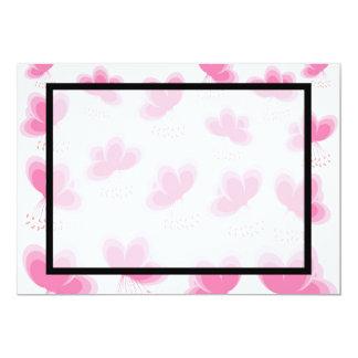 Romantic Cherry Blossom Pattern Card