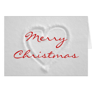 Romantic Christmas Card
