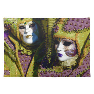 Romantic Couple From The Carnival of Venice Placemat