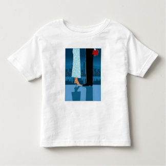 Romantic Couple in City Toddler T-shirt