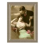 Romantic Couple - loves devotion Post Card