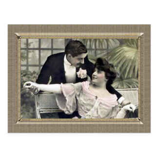 Romantic Couple - shall we dance Postcards
