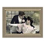 Romantic Couple - shall we dance Postcards