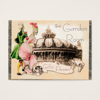 Romantic Couple with Paris Opera House Business Card
