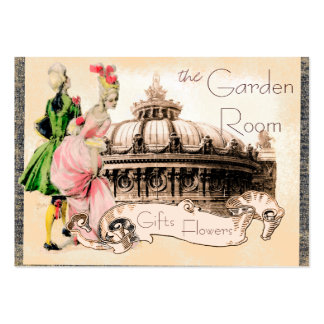 Romantic Couple with Paris Opera House Large Business Cards (Pack Of 100)
