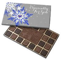 Romantic couples christmas assorted chocolates