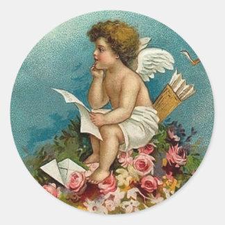 Romantic Cupid Valentine Stickers