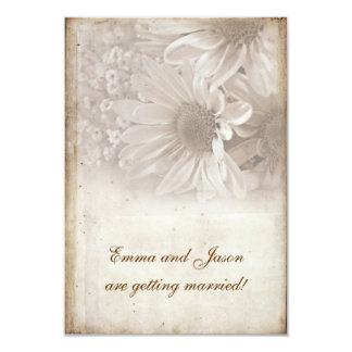 Romantic Daisy Engagement Party invite
