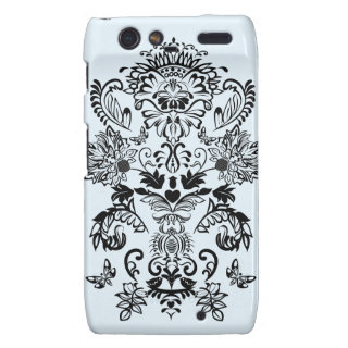 Romantic Damask Motorola Droid RAZR case