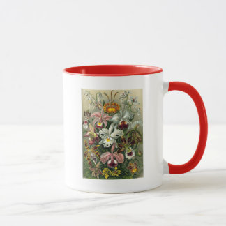 romantic date blossoms rsvp colorful chic mug