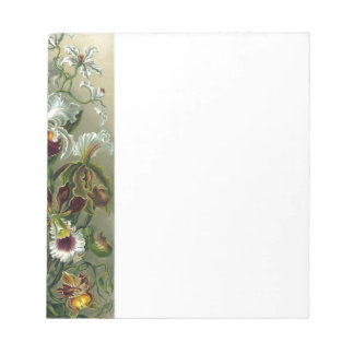 romantic date blossoms rsvp colorful chic notepad