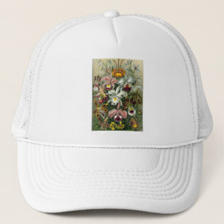 romantic date blossoms rsvp colorful chic trucker hat