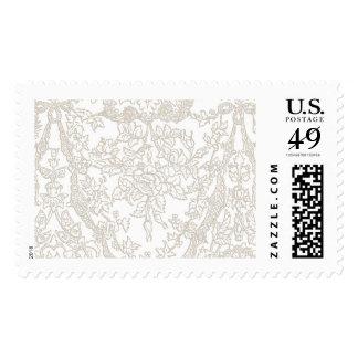 Romantic Dentelle Blanc | Atelier Isabey Stamps
