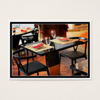Romantic Dinner for Two Business Card