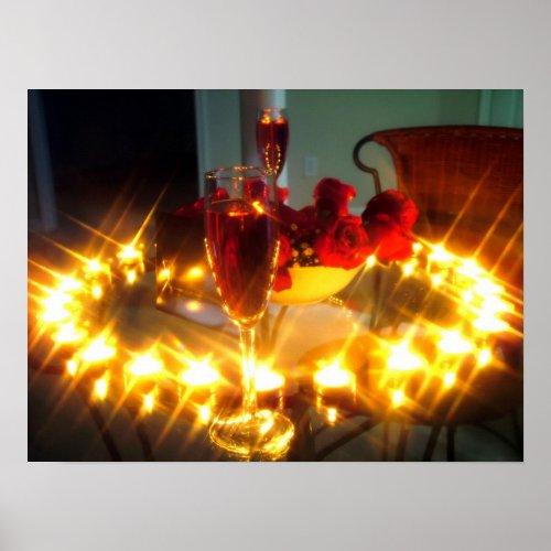 Romantic Dinner print
