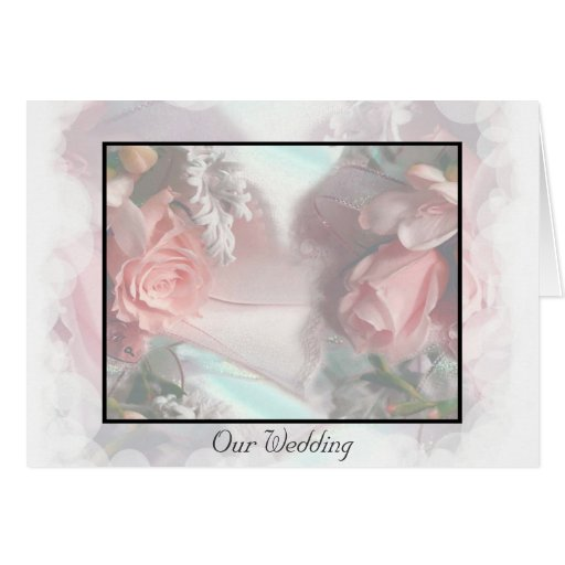 Romantic Dream Wedding Invitation Card