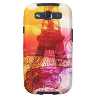 Romantic Eiffel Tower Galaxy S3 Covers