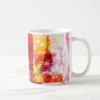 Romantic Eiffel Tower Classic White Coffee Mug