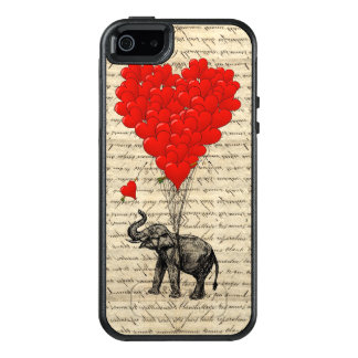 Romantic elephant heart OtterBox iPhone 5/5s/SE case