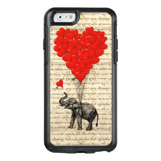Romantic elephant heart OtterBox iPhone 6/6s case
