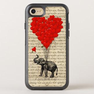 Romantic elephant heart OtterBox symmetry iPhone 7 case