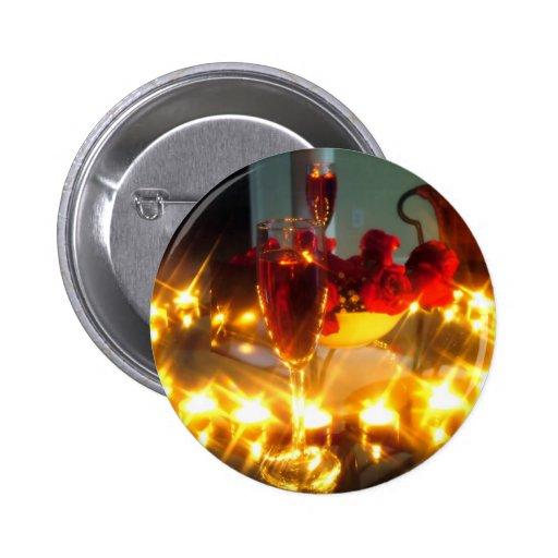 Romantic Evening Button