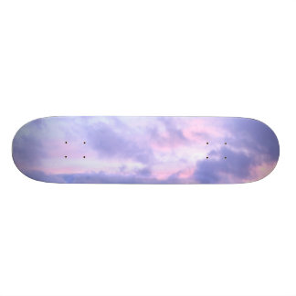 Romantic Evening Sky Skateboard Deck