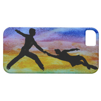 Romantic Figure Skating Pair iPhone SE/5/5s Case
