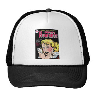 Romantic First Love Breaking Up Mesh Hats
