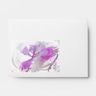 Romantic Floral Envelopes