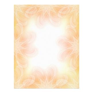 Romantic Floral scrapbook paper design