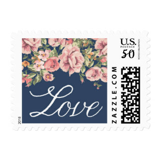 Romantic Floral Stamp