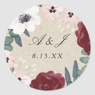 Romantic Florals Sticker