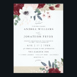 "Romantic Florals Wedding Invitation<br><div class=""desc"">5x7 Romantic Florals Wedding Invitation. Customizable. Part of a wedding collection</div>"