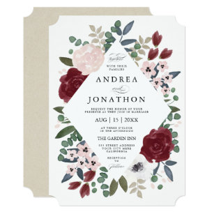 Romantic Wedding Invitations | Romantic Wedding Invitations Zazzle