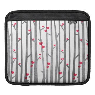 Romantic Forest iPad sleeve