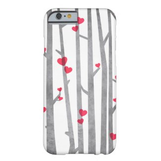 Romantic Forest iPhone Case Barely There iPhone 6 Case