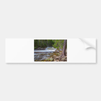 Romantic Forest Stream Bumper Sticker