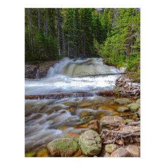 Romantic Forest Stream Letterhead