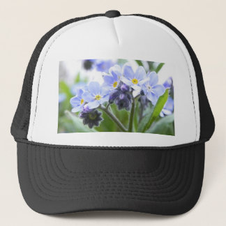 Romantic Forget Me Nots Trucker Hat
