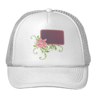 romantic_frame mesh hat