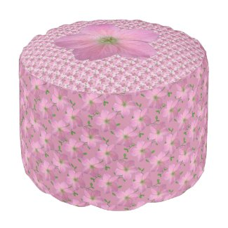 Romantic Garden Flower Geranium Pink Pattern