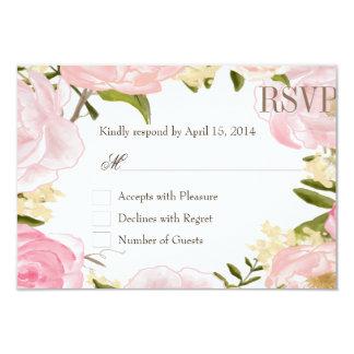 Romantic garden RSVP Cards